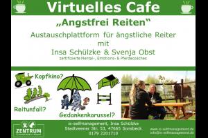 Das virtuelle Café der Fragen – Auf der Suche nach deinem Weg ohne Angst zu reiten